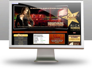 website construction example